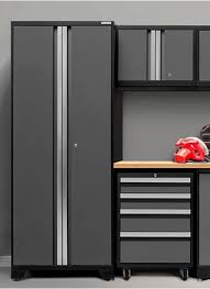 storage cabinet with doors and drawers. Give Your Garage Storage A Clutter-busting Makeover With NewAge Products  Line Of Sturdy Yet Lightweight Aluminum Cabinets, Shelving, Carts \u0026 More. Cabinet Doors And Drawers