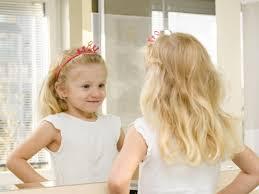 toddler looking in mirror. image source toddler looking in mirror c