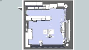 garage workshop layout. large preview of 3d model 2/3 garage workshop layout