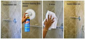 i tried windex foaming glass cleaner on all of the glass surfaces in my home from the study room french glass doors bathroom mirrors shower doors