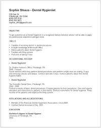 dental assistant resume objectives dental assistant resume objectives dental resume examples dentist