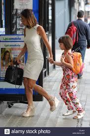 Myleene Klass seen out in London with her daughter Hero Harper Quinn Stock  Photo - Alamy
