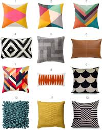 modern pillows  some of these are great i like the scallops and