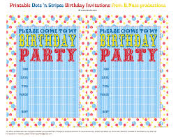 Bnute Productions Free Printable Dots N Stripes Birthday