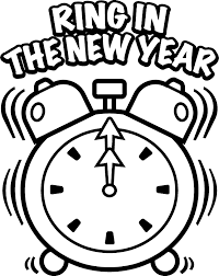 Small Picture New Years Day Coloring Pages Coloring Pages