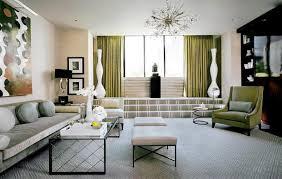Bold Art-Deco Living Room
