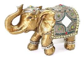 Small Picture Amazoncom Feng Shui 9 Large Gold Elegant Elephant Trunk Statue