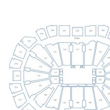 Fiserv Seating Chart Fiserv Forum Interactive Basketball Seating Chart