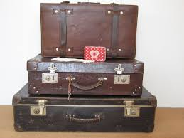Old Suitcases Hexagon Pouch And Old Suitcases Neros Post Ii 2013 2015