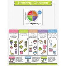 Chart On Healthy Habits Educational Healthy Habits Bulletin Board Chart Healthy Choices