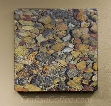 diy river rock wall art on rock wall art ideas with diy river rock wall art diy stone painting art pinterest stone