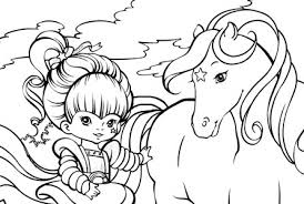 Small Picture Free Printable Rainbow Brite Coloring Pages Google Twit regarding
