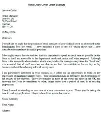 Retail Covering Letter Retail Manager Cover Letter Retail Cover ...
