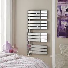 Hudson Reed Elgin Chrome Designer Heated Towel Rail 1080mm X 550mm