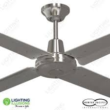home and furniture extraordinary silver ceiling fan in brighton 52 with light remote silver ceiling