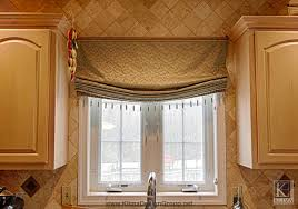 impressive kitchen decorating ideas. Outstanding Window Treatment Decoration Ideas With Outside Mount Roman Shades : Fascinating Kitchen Using Impressive Decorating
