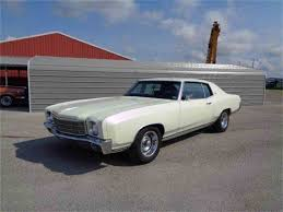 1970 Chevrolet Monte Carlo for Sale on ClassicCars.com