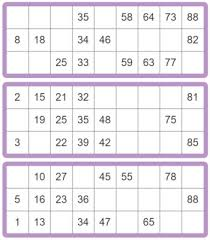 Bingo Ball Generator Printable Bingo Cards 90