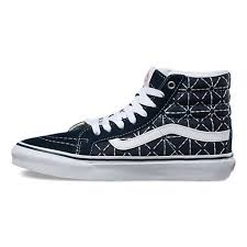 vans quilted shoes. vans sk8-hi shoes online sale : quilted denim sk8-hi slim s