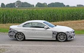 BMW Convertible bmw 4 series convertible white : BMW 4 Series Convertible Also Spied Testing a Facelift » AutoGuide ...