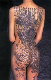 татуировки на женском теле самые завораживающие рисунки на земле