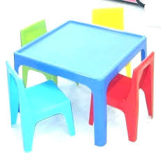 resin round table chair set play and chairs kid plastic child for toddlers kids with