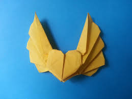 How to make an origami heart with wings 3 | craft to make ...