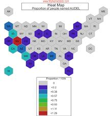 AUDEL First Name Statistics by MyNameStats.com