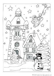 House Coloring Page 488websitedesigncom