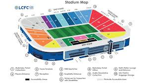 Stadium Map And Ticket Prices Leicester City