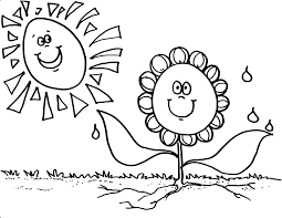 Small Picture Flower Coloring Pages Coloring Kids