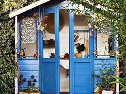 5 colourful and creative garden shed