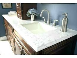 corian bathroom countertop ideas custom countertops colors home depot white stains improvement inspiring estimato