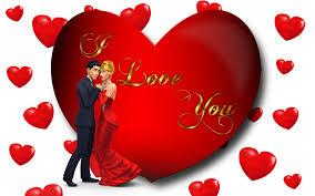 I Love U Wallpaper With Couple ...