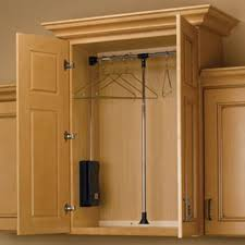 pull down closet rods cpdr series