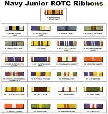 Njrotc Ribbons Njrotc Navy Rotc Rotc