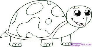 Small Picture How to Draw a Baby Turtle Step by Step Reptiles Animals FREE