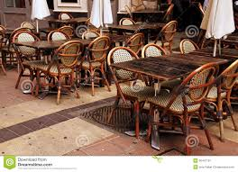 french cafe wood chairs. royalty-free stock photo. download outdoor french cafe wood chairs