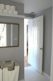 behr bathroom paintToilet Paper Shelf In The Bathroom Dolphin Gray Behr Paint I Like