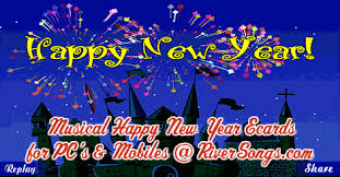 New Year Cards 2019 Happy New Year Ecards Wishes Riversongs