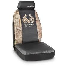 camo seat cover kit bucket seat realtree xtra