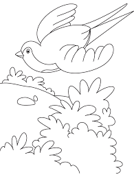 Small Picture A flying swallow bird coloring page Download Free A flying