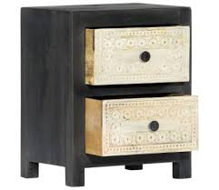 <b>TV</b> Stands & Entertainment Units <b>Solid</b> Mango Wood Beside <b>Cabinet</b> ...