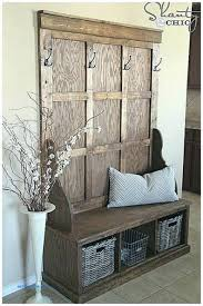 Entry Hall Bench With Coat Rack Awesome Coat Racks Amazing Entry Hall Coat Rack Entryway Bench And Coat For