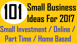Small Part Time Home Business Ideas