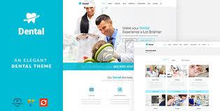 Dentist Website Templates From Themeforest