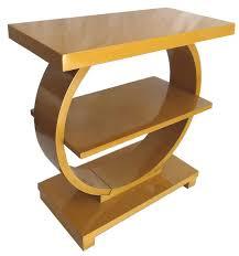 art moderne furniture. Pair American Art Deco Modernage Streamline End Tables Moderne Furniture