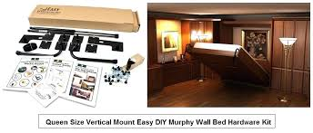 build a bed kit brilliant how to with 2 diy wall murphy hardware