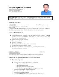 Experience Sample Resume Format For Fresh Graduates Two Page Format Sample  Resume For Fresh Graduate Without