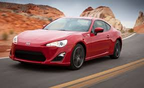 scion fr s fire car